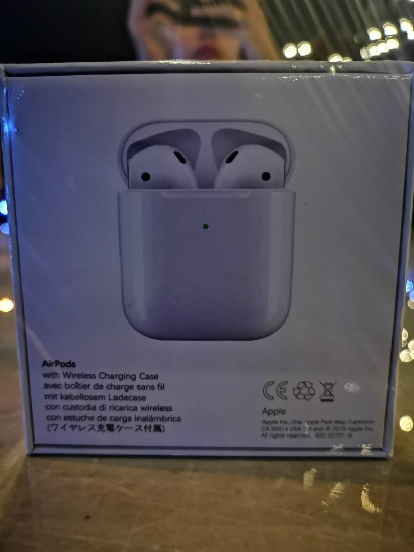 (clearence stock promotion) New airpod wireles charging case