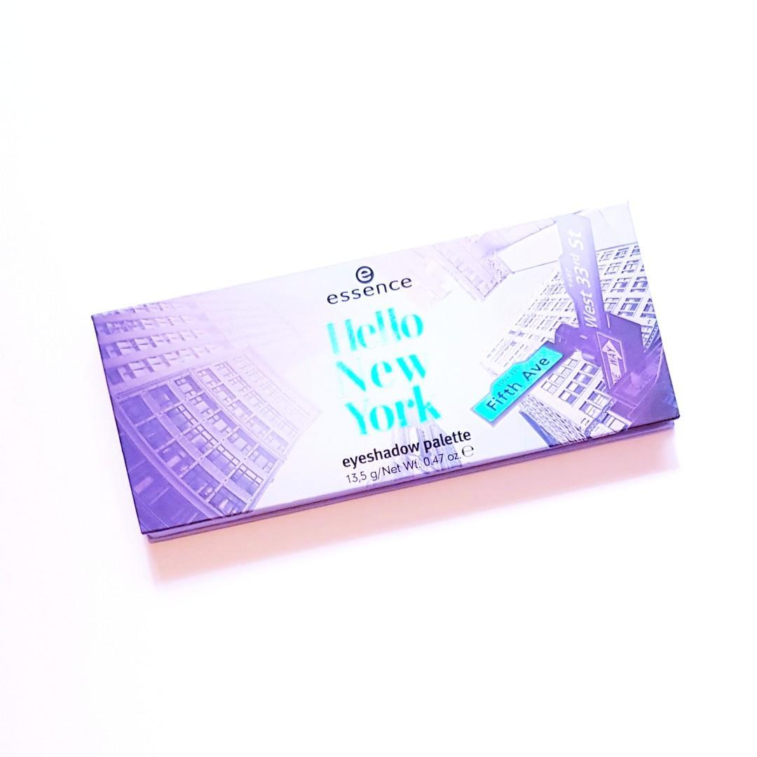 Essence Cosmetics Hello New York Fifth Avenue Richly Pigmented Urban Colour Holographic Shade Eye Powder Eyeshadow Palette