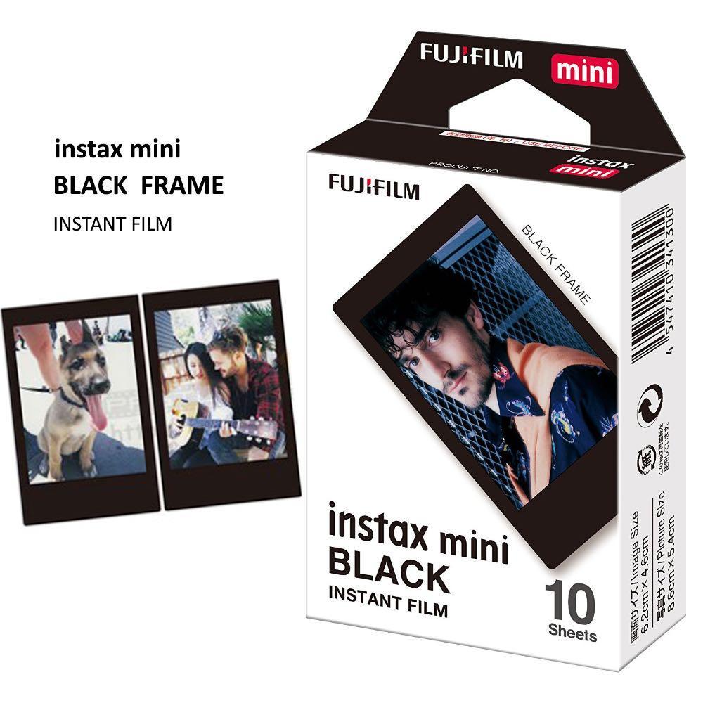 Fujifilm instax mini film Black Frame (10 Sheets)
