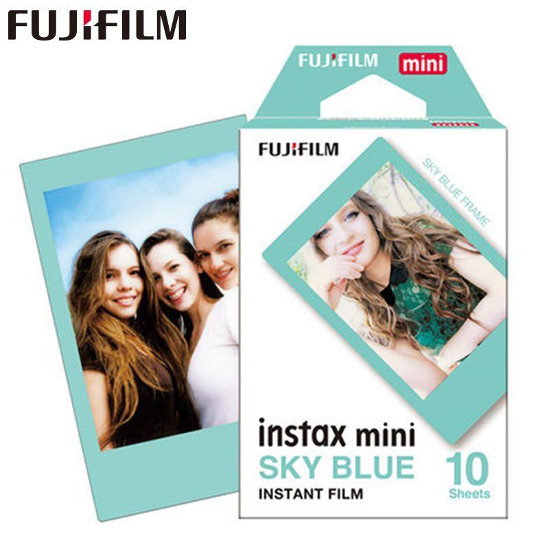 Fujifilm instax mini film Sky Blue Frame (10 Sheets)
