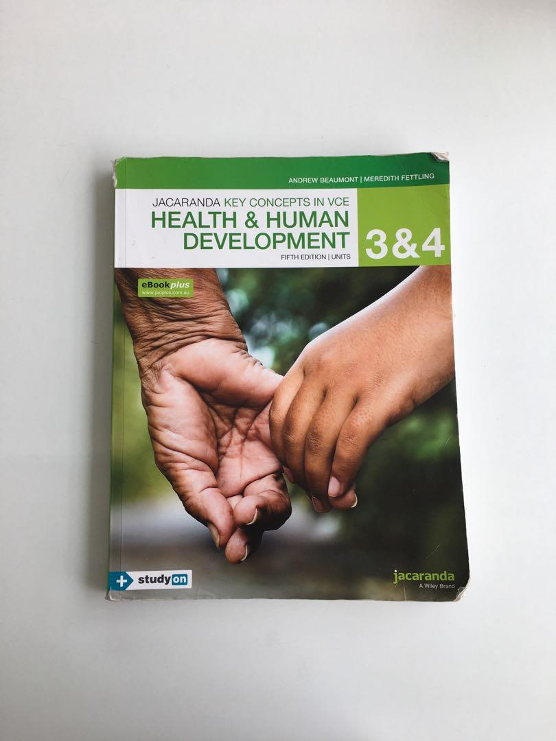 Health & Human Development units 3 & 4 (5th edition)