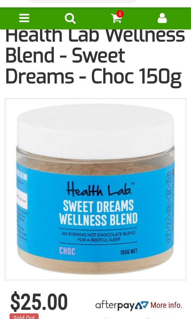 Health Lab Sweet Dreams Wellness Blend & Gut Cleanse
