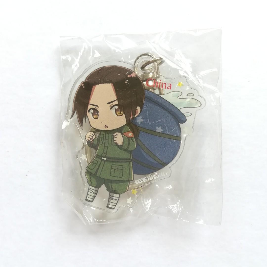 Hetalia The World Twinkle - China (Wang Yao) - Acrylic Keychain