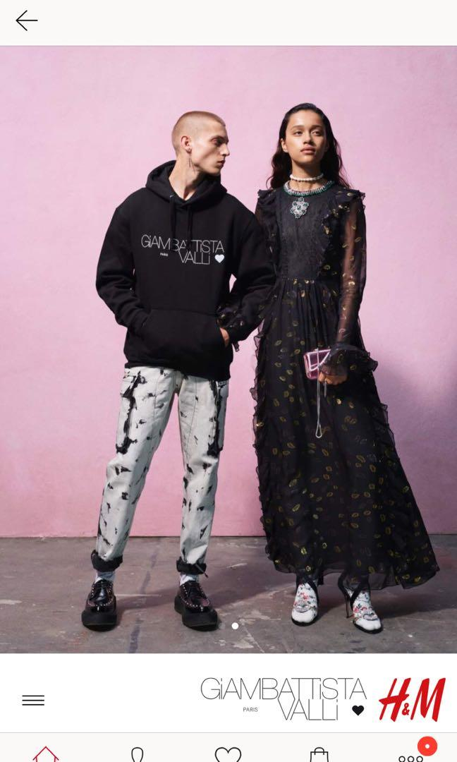 H&M x Giambattista Vali Printed Hoodie