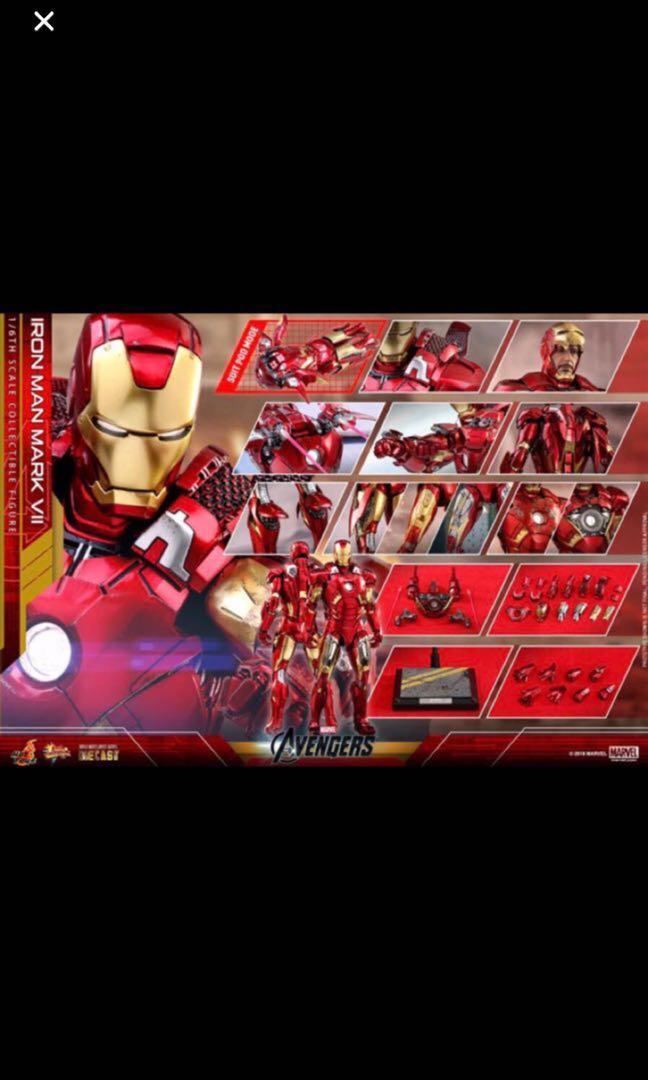 Hot toys Iron man mark vii