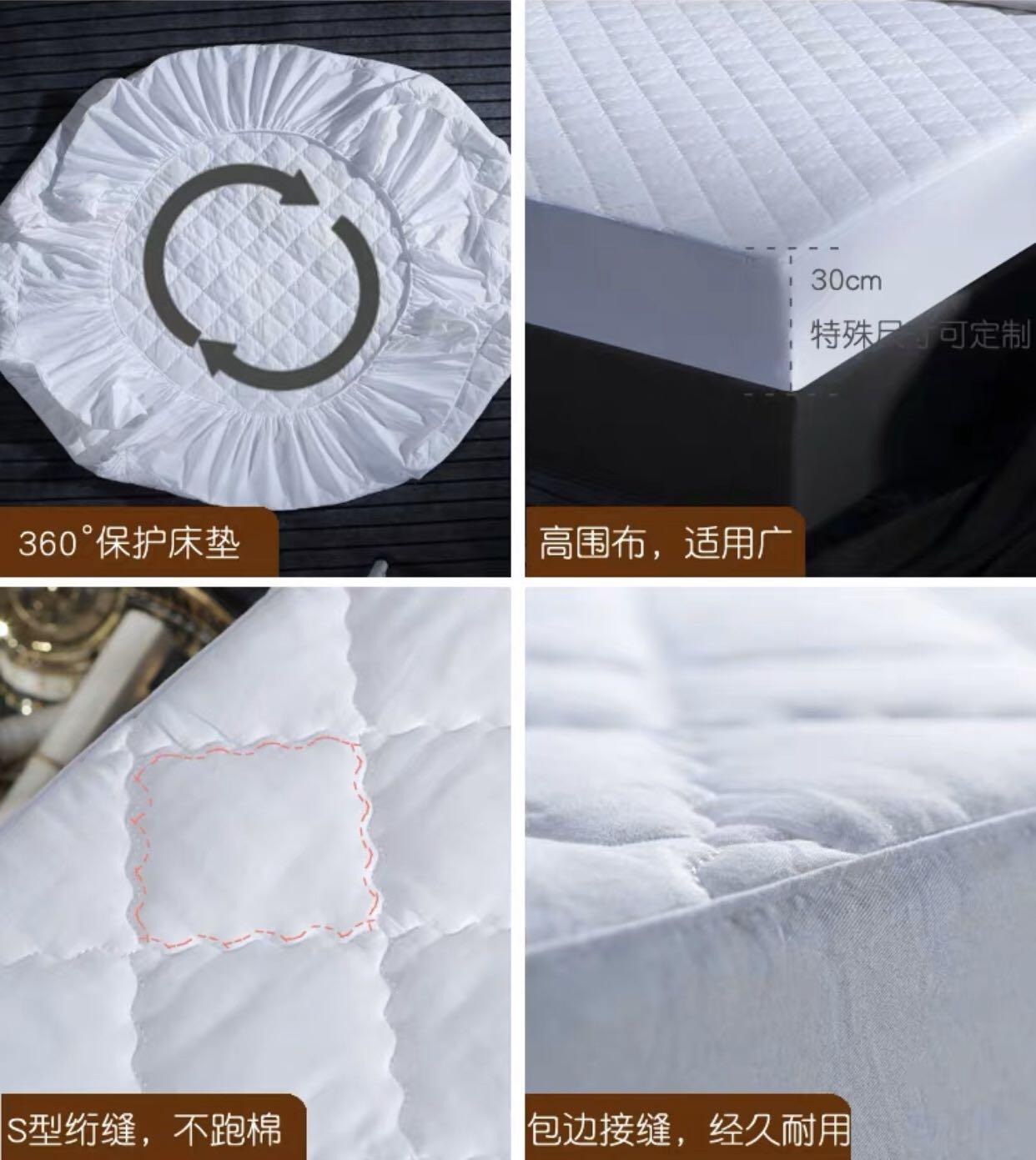 HOTEL 100%cotton MATTRESS PROCTECTOR!(QUEEN ONLY)