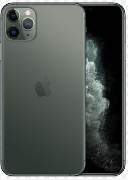 Iphone 11 Pro Max 256GB Midnight Green (mobile swop set)