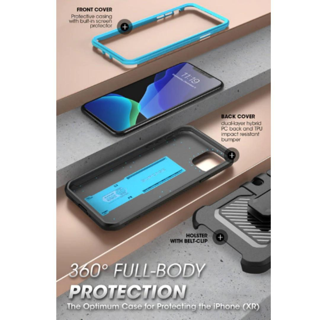 iPhone 11 (Pro) Rugged Holster Case Cover