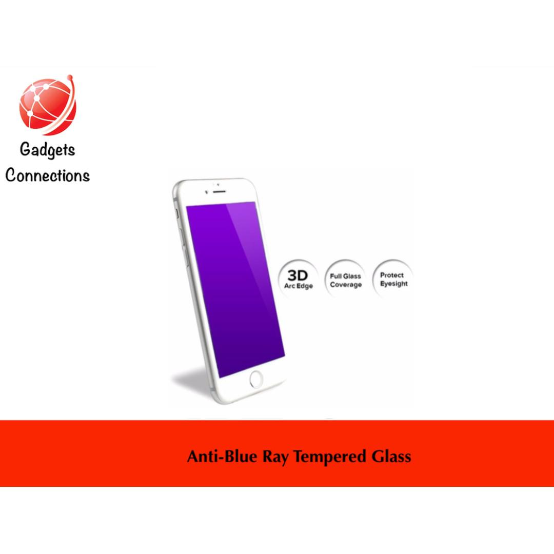 iPhone Blue Ray Tempered Glass