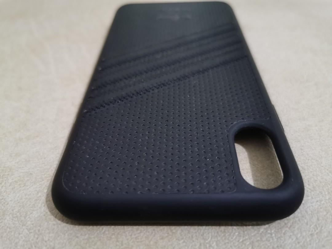 iPhone XS Max Case Adidas Original Black