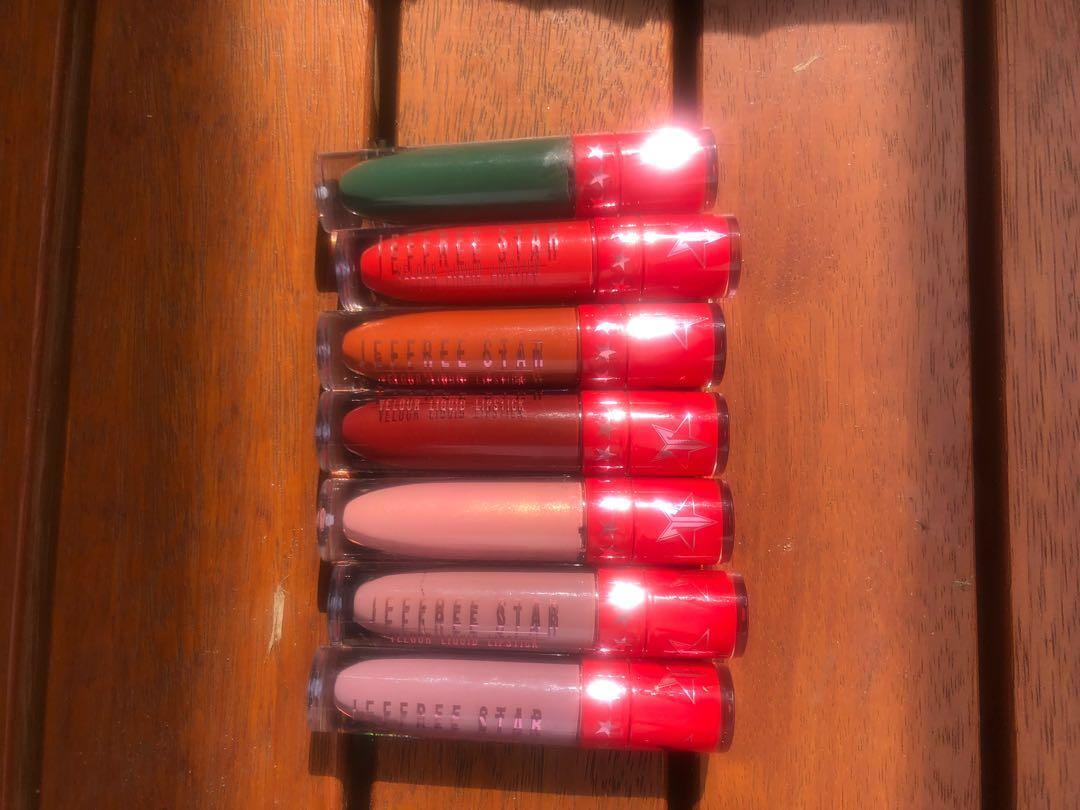 Jeffree Star Velour Liquid Lipsticks Holiday 2016 Collection