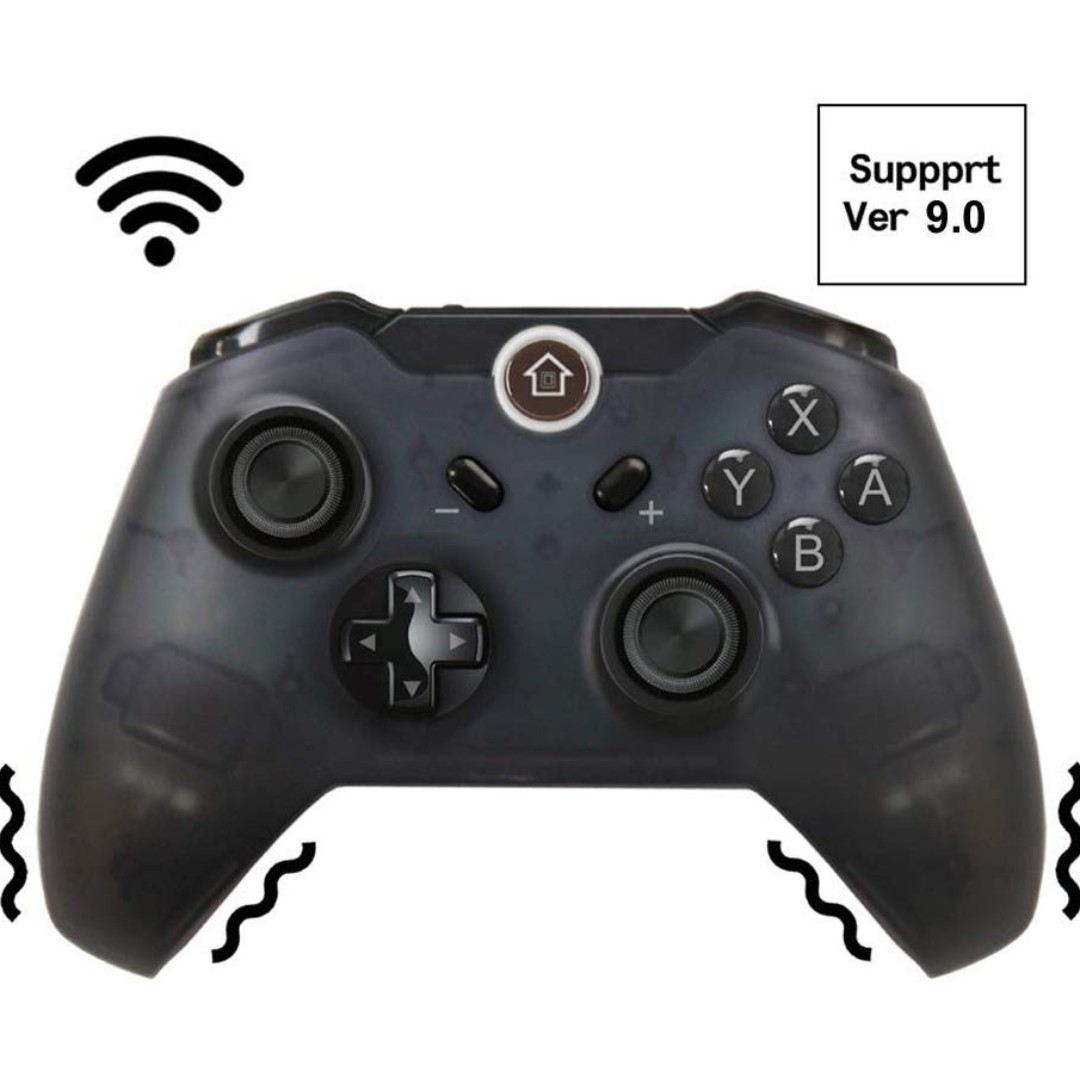 JFUNE Wireless Switch Controller for Nintendo Switch, Switch Pro Controller Game Controller for Nintendo Switch Game 9.0 & PC