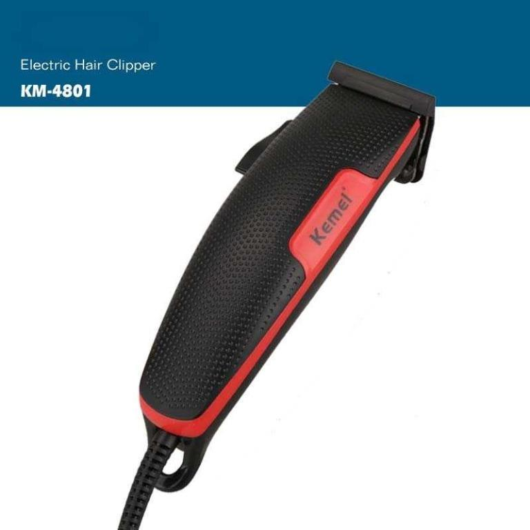 Kemei Alat Cukur Elektrik Hair Trimmer Shaver - KM-4801 TItanGadget