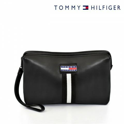 Tommy Hilfiger - Leather Pouch - Clutch - TOM14