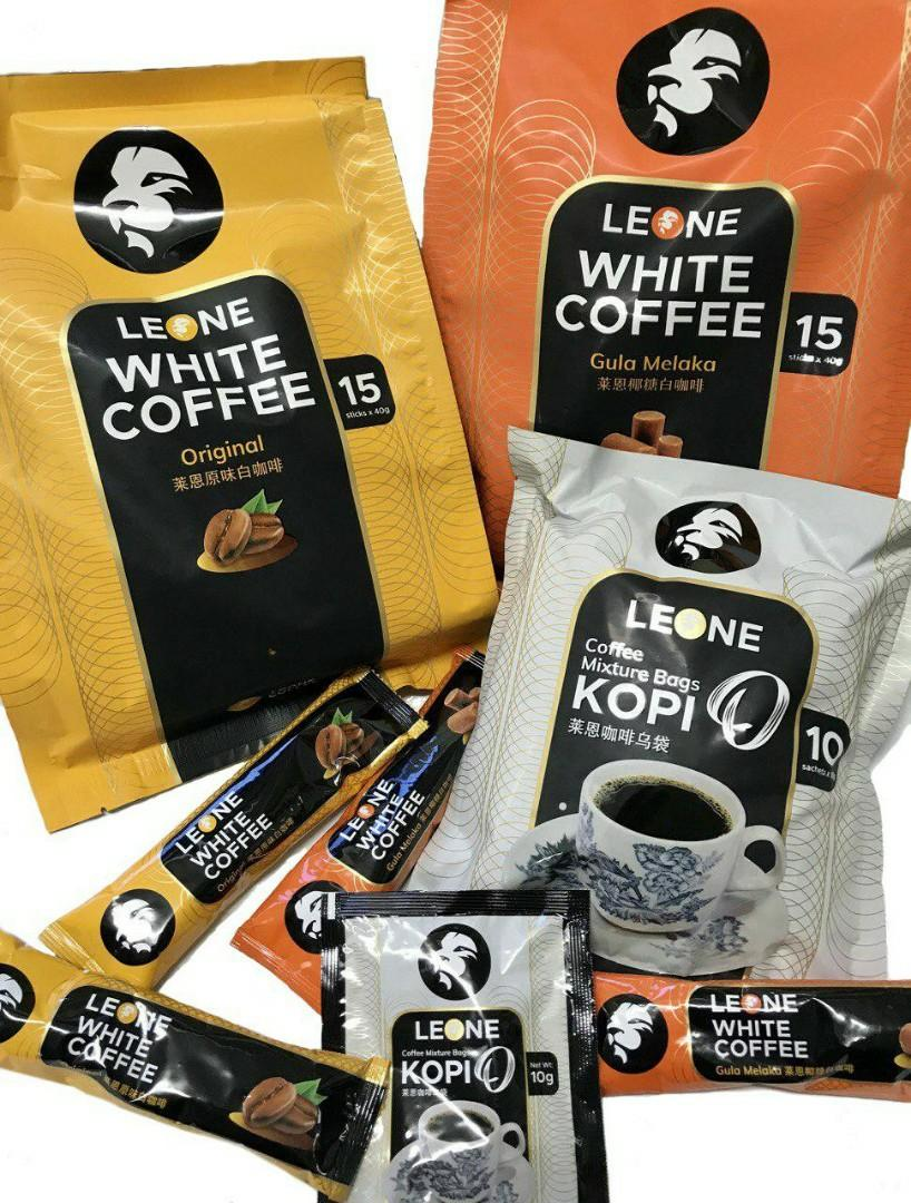 Leone Original White Coffee 15x40G
