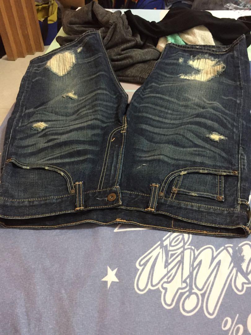 LEVI'S503牛仔短褲