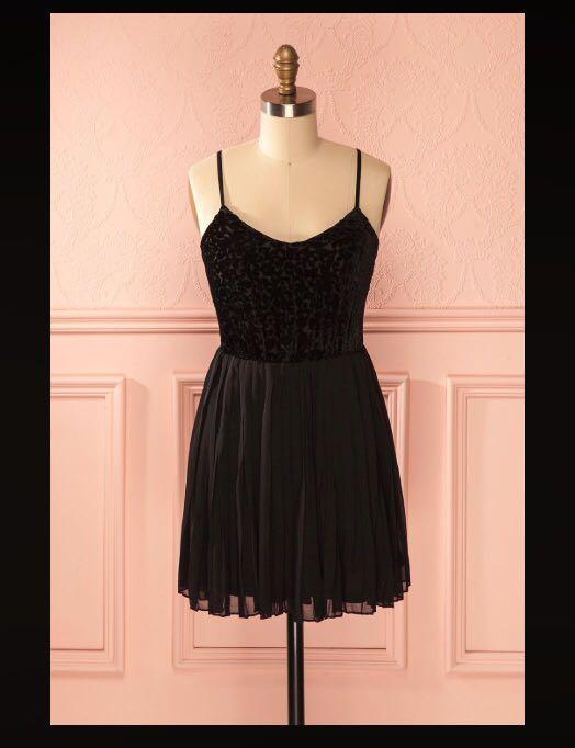 Little black dress (Boutique 1861, size M, like new)