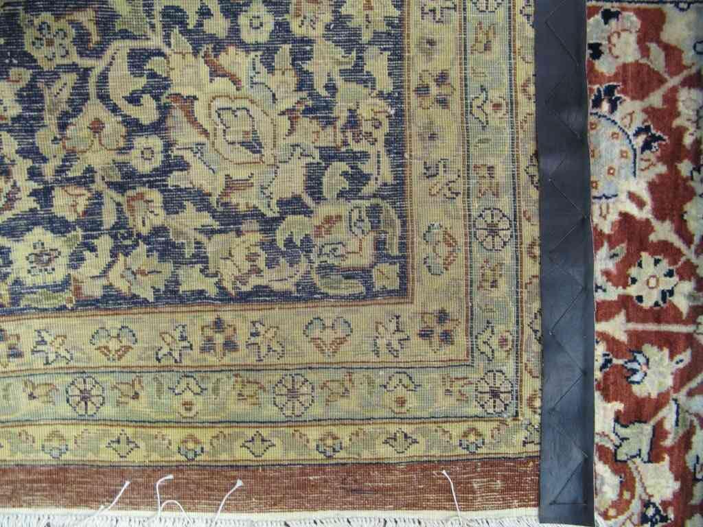 Lotus Ghoum | 95% Pure Wool, 5% Pure Silk | 12 x 9 ft | Handmade | Brand New