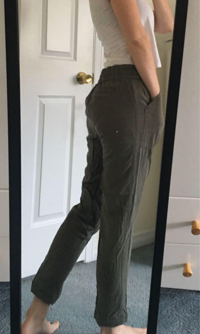 lucky brand canvas pants [small]