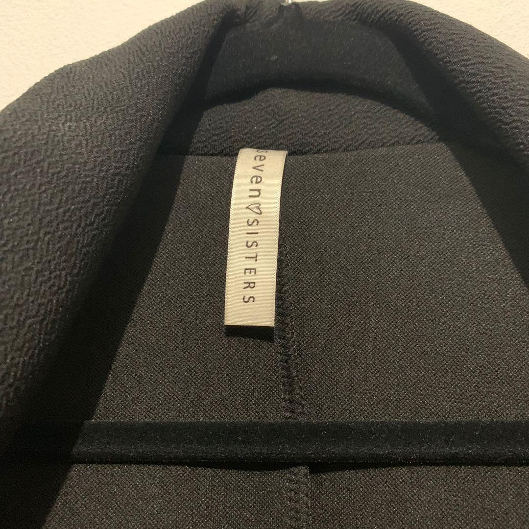 M for Mendocino Seven Sisters Tie-Waist Waterfall Vest - Sz M