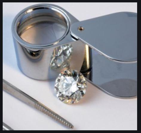 Magnifying Glass / Loupe / Diamond / Jewel / UV / 40X zoom / Magnifier