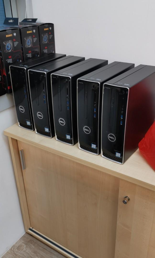 Dell Mini CPU Desktop computer  with Screen x 5 unit