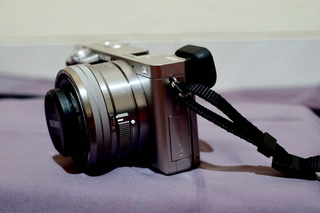 Mirrorless Sony A6000 Kit lens 16-50mm second/bekas