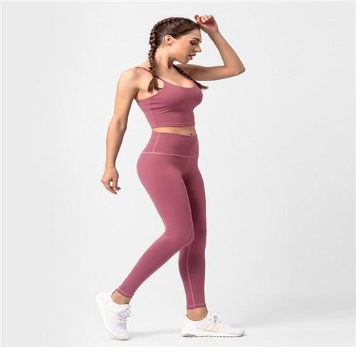 新款修身跑步健身運動內衣瑜伽褲套裝/New Slim Running Fitness Underwear Yoga Pants Set