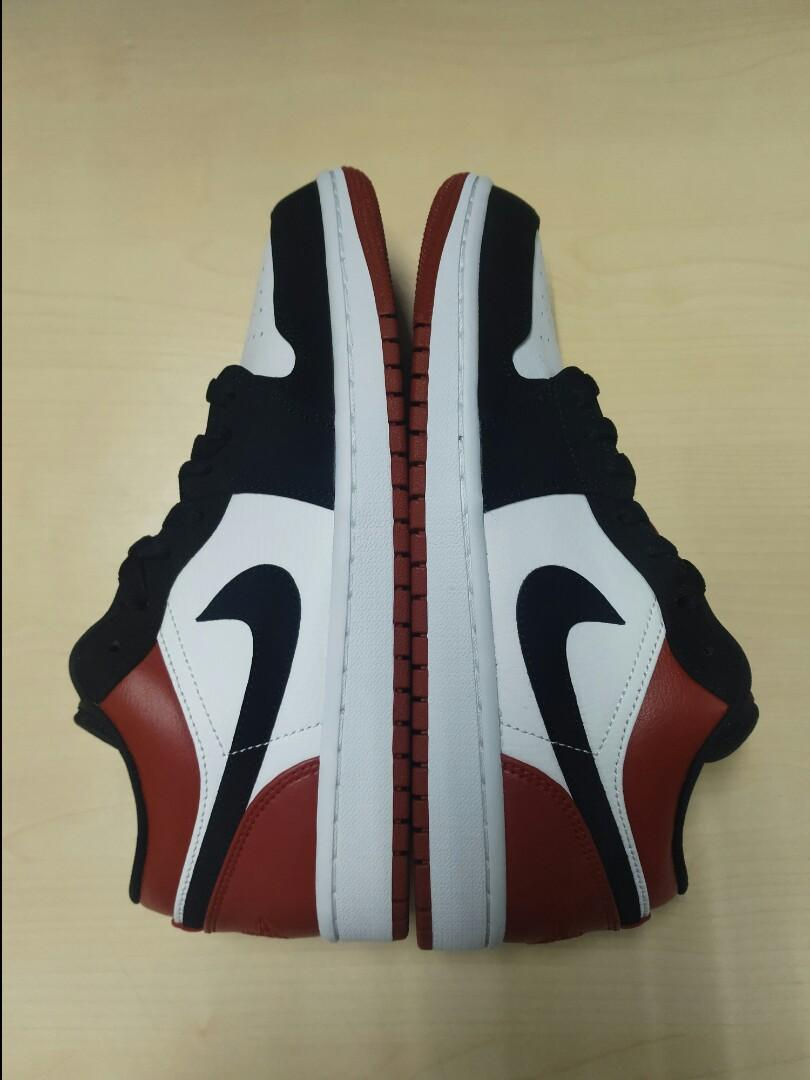 "Nike Air Jordan 1 Low ""Black Toe"""