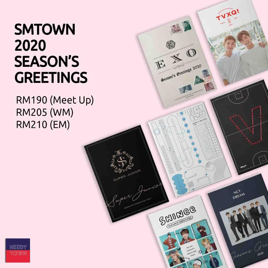 (PRE-ORDER) SMTOWN 2020 SEASON'S Greetings (TVXQ / SUPER JUNIOR / SHINEE / EXO / NCT127 / NCT DREAM / WAY V)