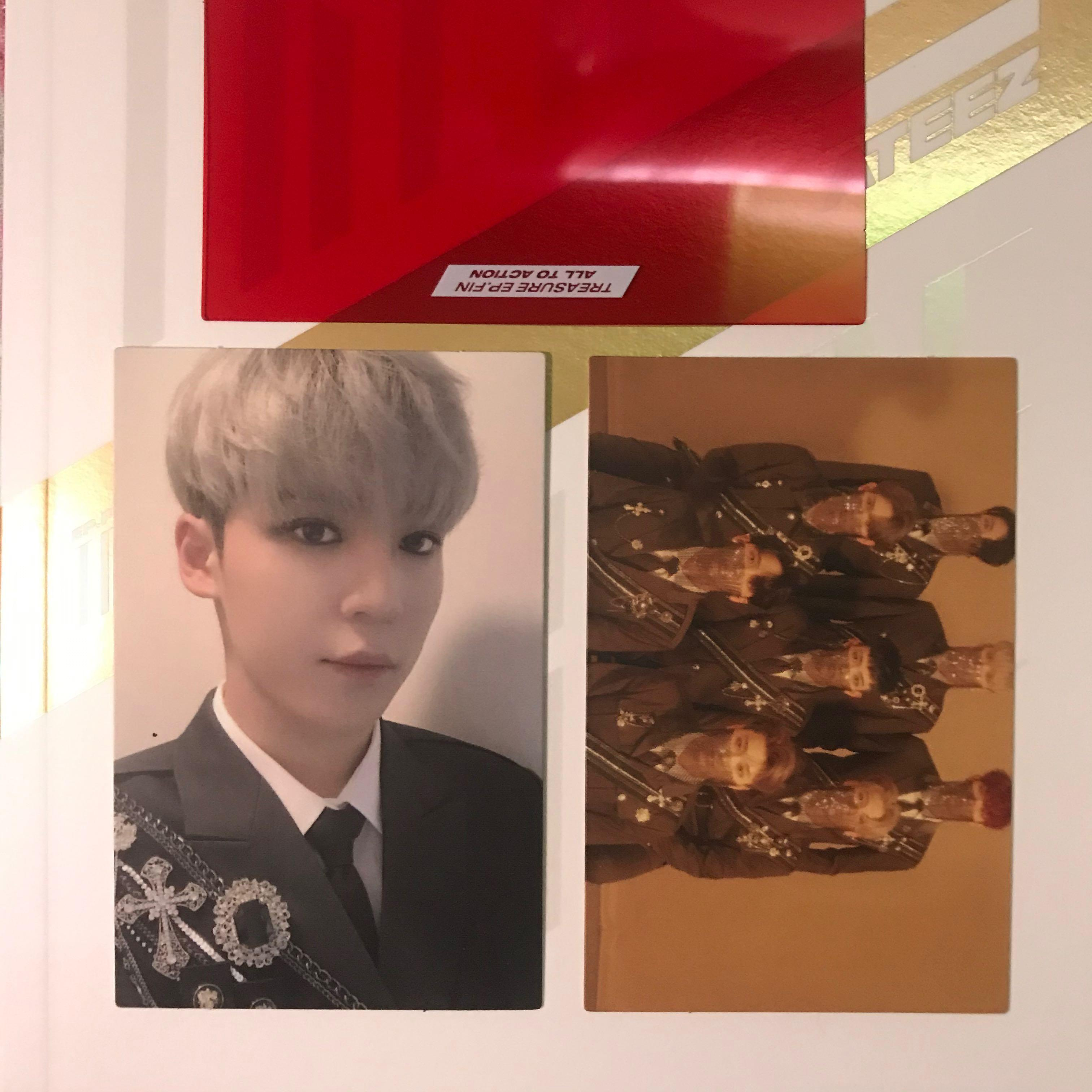 [Ready Stock Unsealed] ATEEZ TREASURE EP. FIN: All to Action Yunho PC