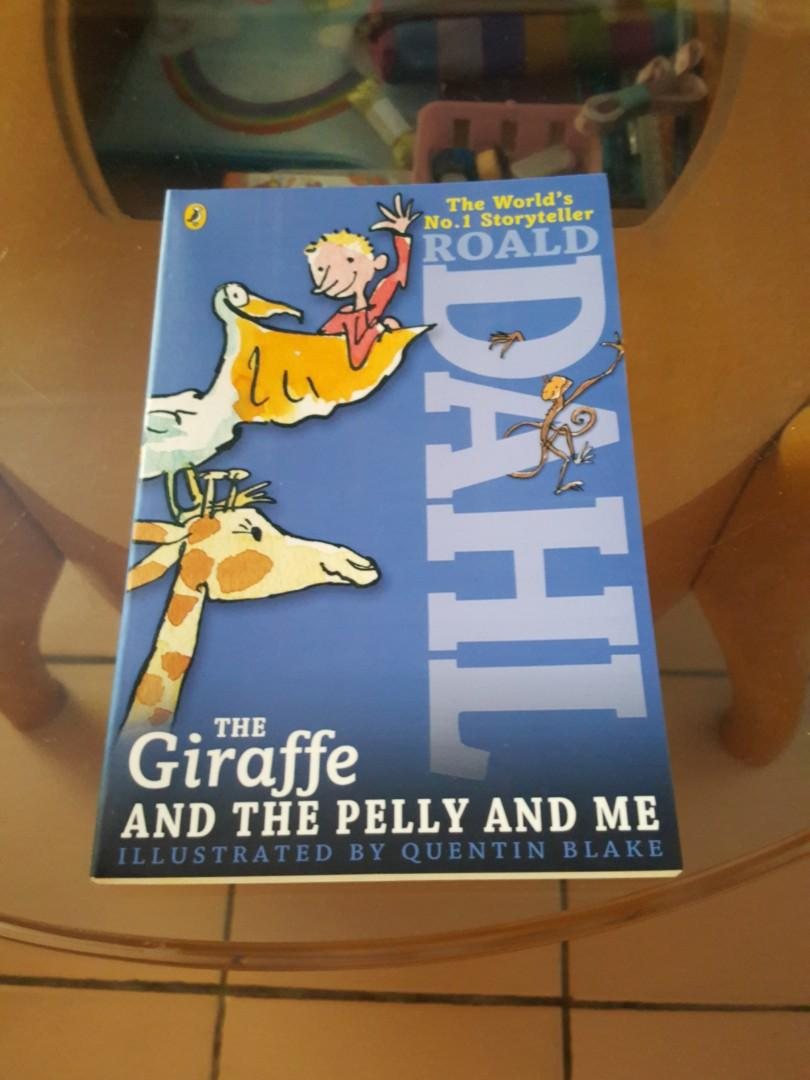 Roald Dahl the giraffe and the pelly and me.