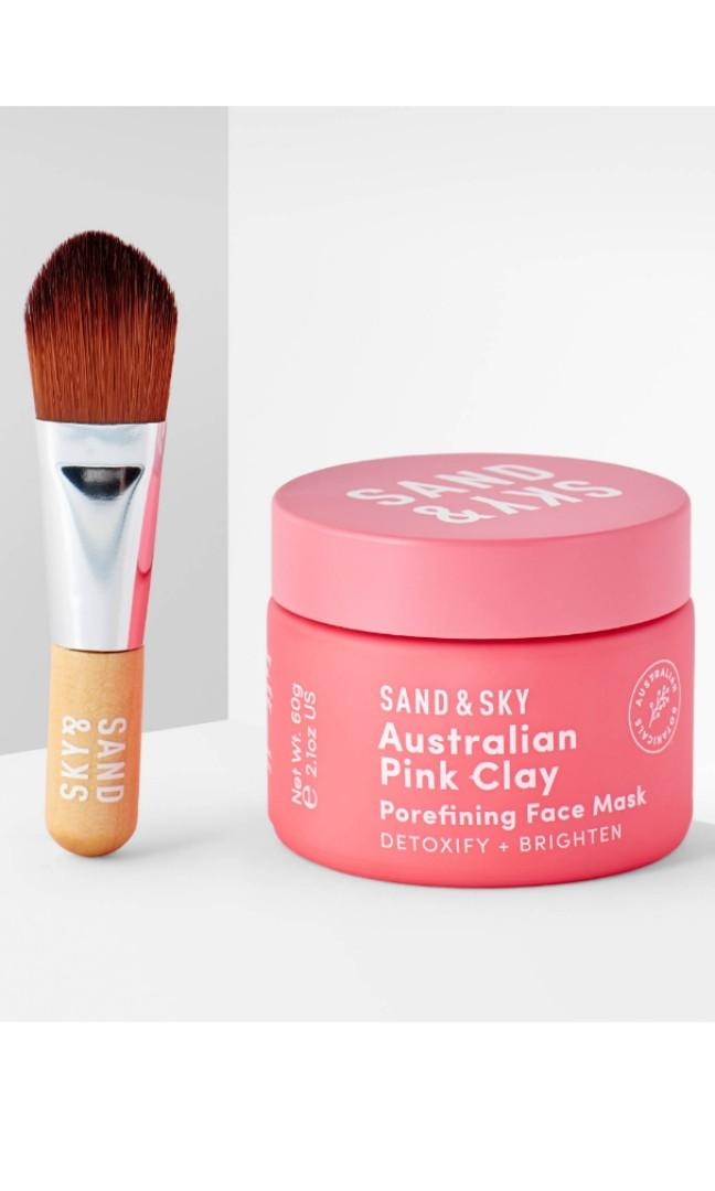 🆕️Sand & Sky Pink Clay Mask
