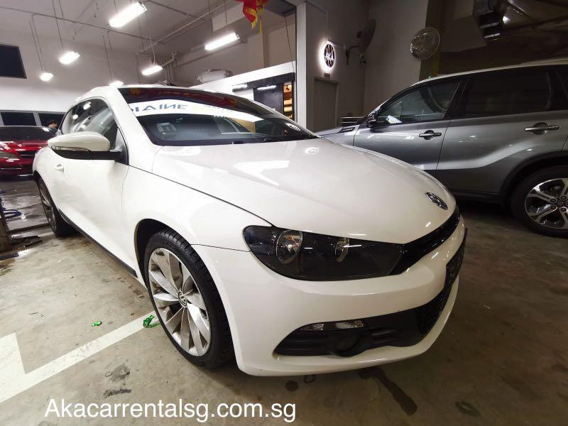 Scirocco for rental. No phv decal