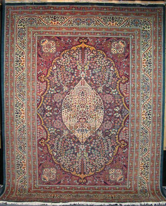 Semnan - Tree Of Life | 12 x 9 ft | 100% Pure Wool | Handmade | Brand New