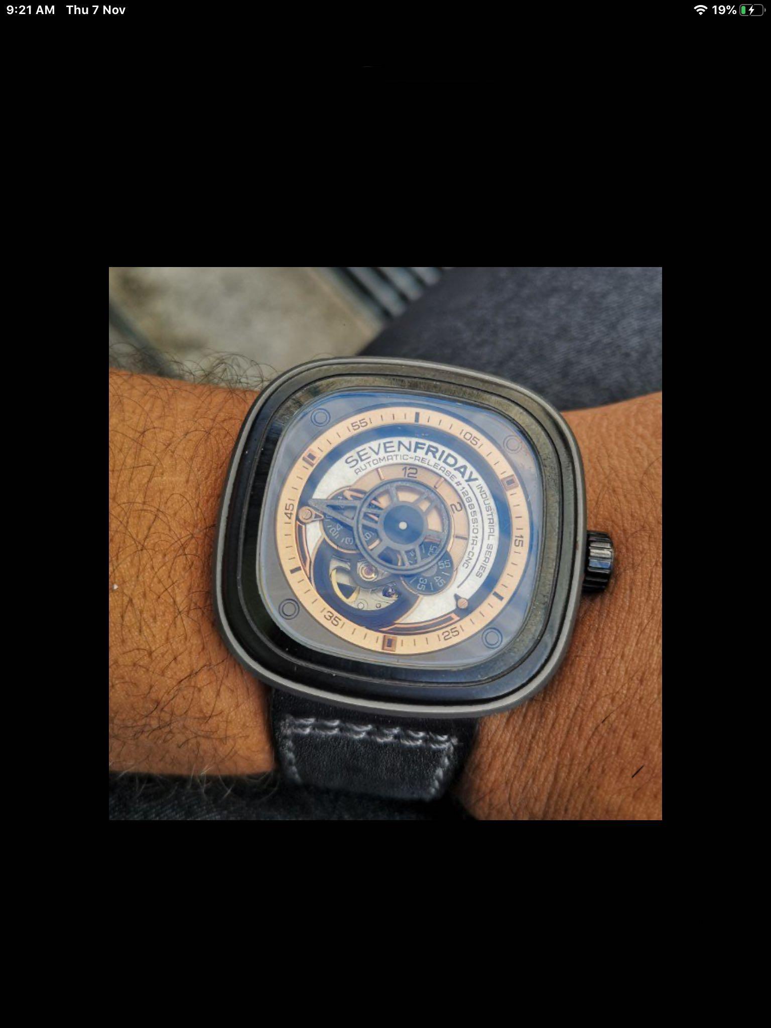 SevenFriday  Watch Revolution P2/01