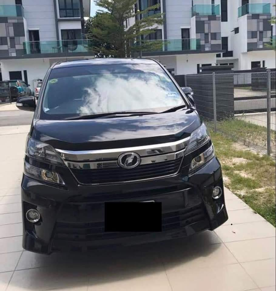 SEWA BELI>>Toyota Vellfire 2.4 Golden Eyes 2013/2017