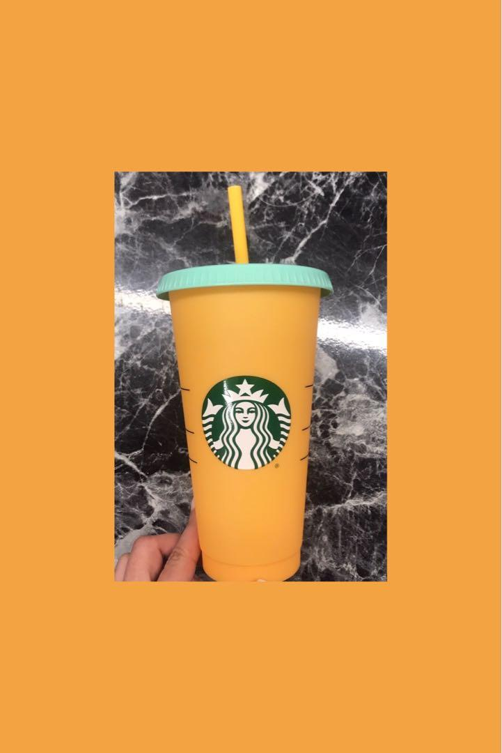 Starbuck colour changing