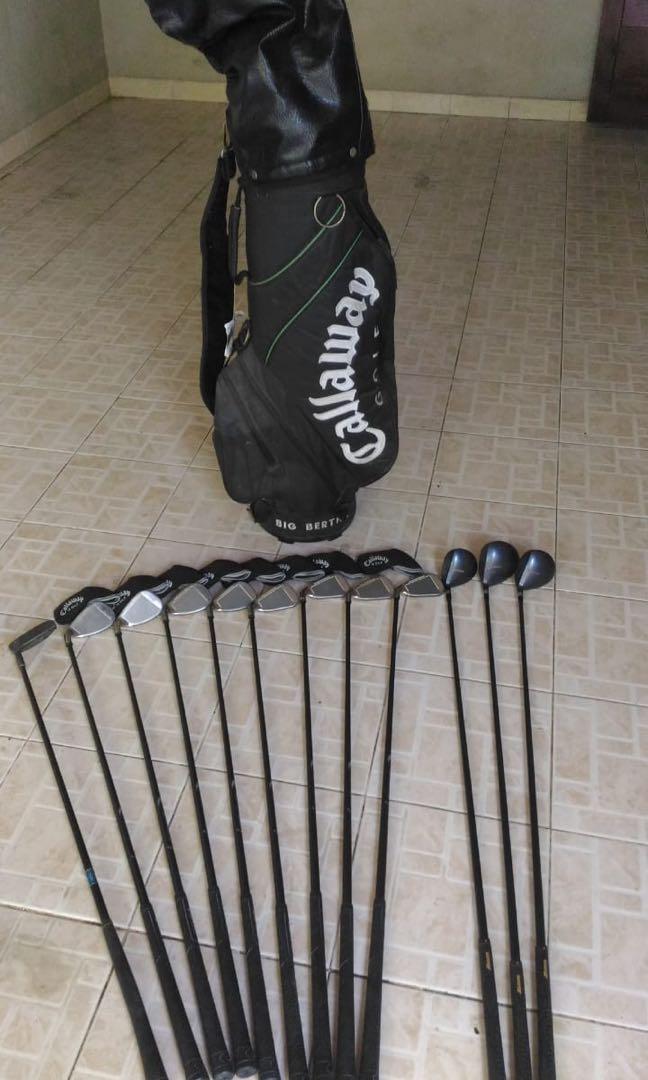 Stick Golf Merk Callaway System 75 Regular Flex