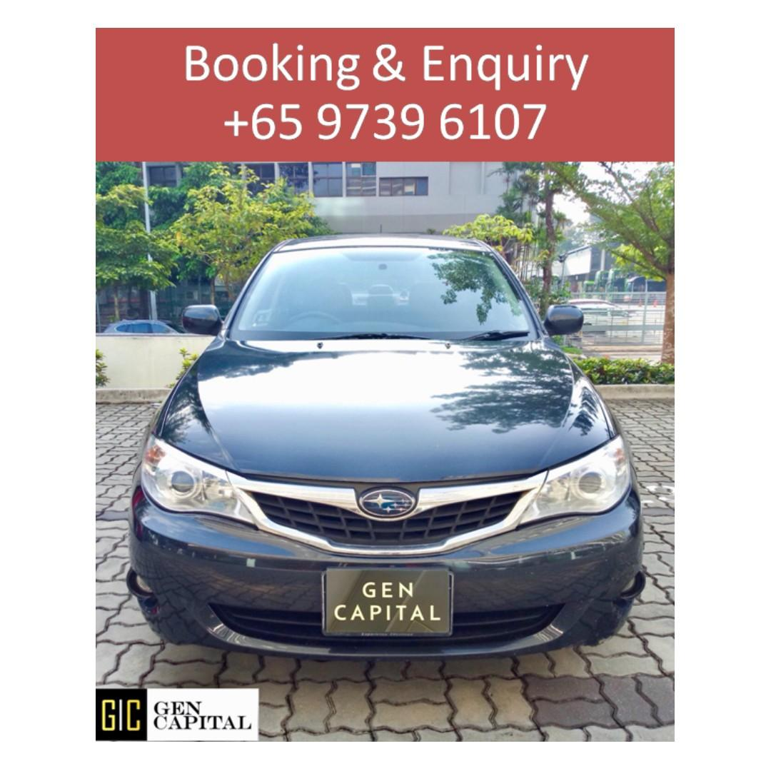 Subaru Impreza Manual - Cheapest rates, full support! Anytime ! Any day! Your Decision!!