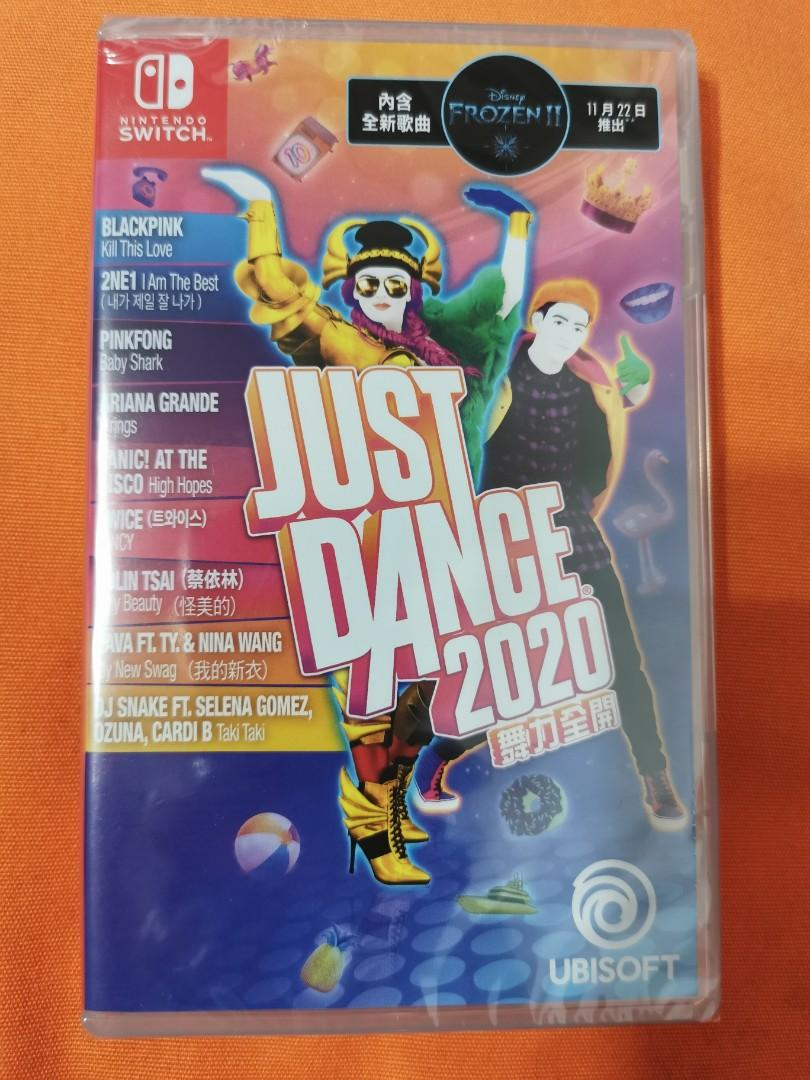 Switch Just Dance 2020 (全新未開封) 換Game