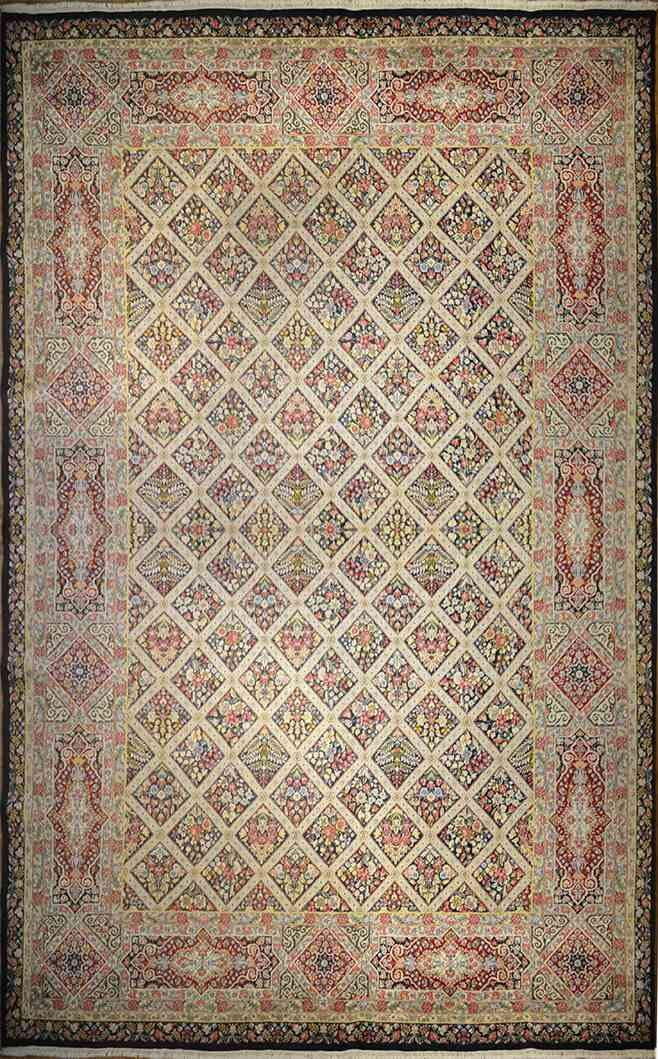 Tabriz - Art & Crafts By William Morris | 16 x 11 ft | 100% Pure Wool | Handmade | Brand New