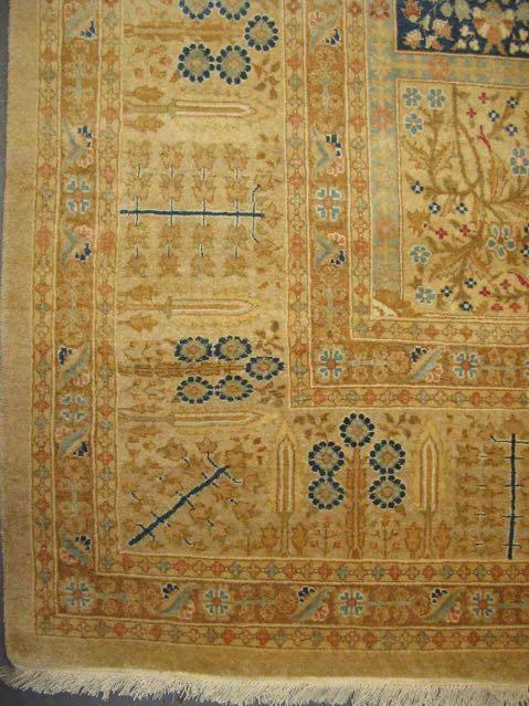 Tabriz - Four Gardens Of Paradise   100% Pure Wool   12 x 9 ft   Handmade   Brand New