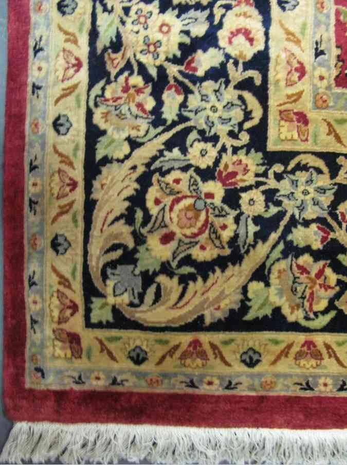 Tabriz Rug | 12 x 9 ft | 80% Pure Silk, 20% Pure Wool | Handmade | Brand New