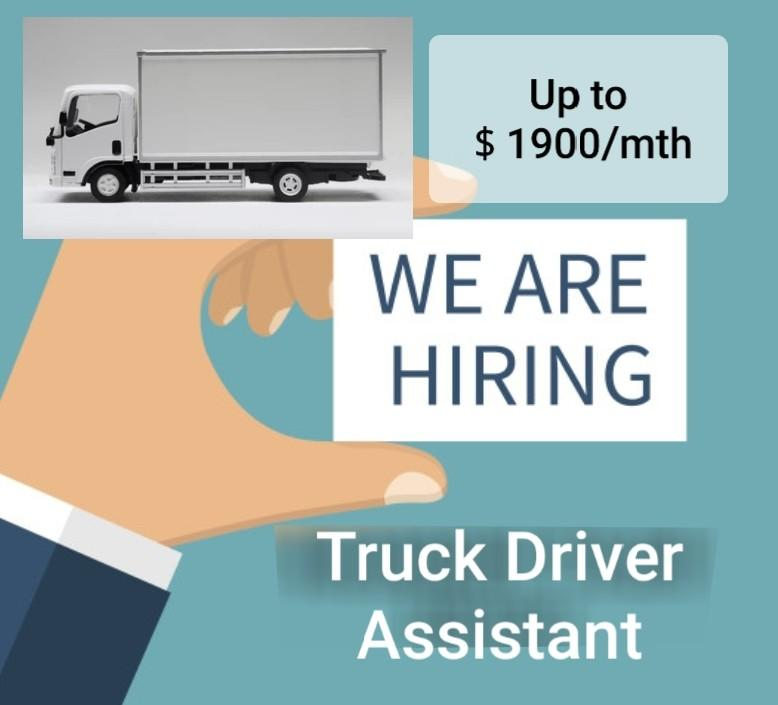 Truck Driver Assistant (no driving required)