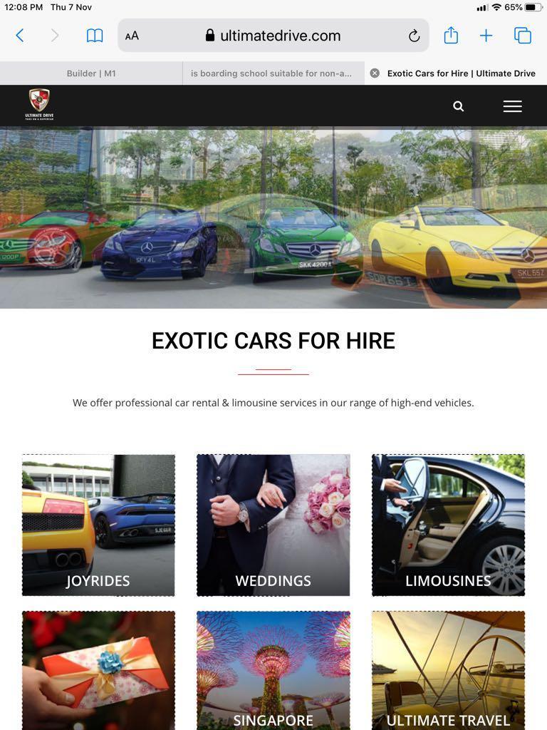 Ultimate Drive Experience - 60mins Ferrari, Gallardo, Mclaren