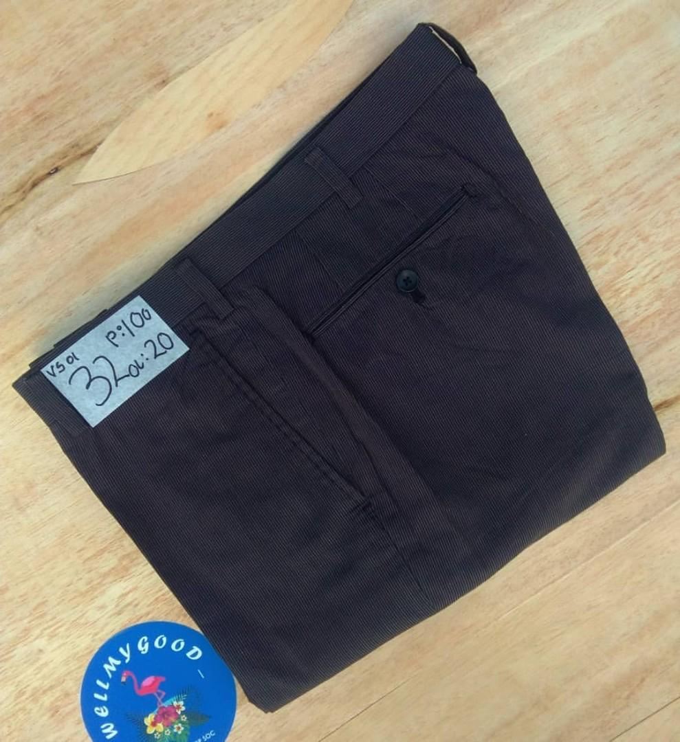 UNIQLO ANKLE PANT CHARCOAL