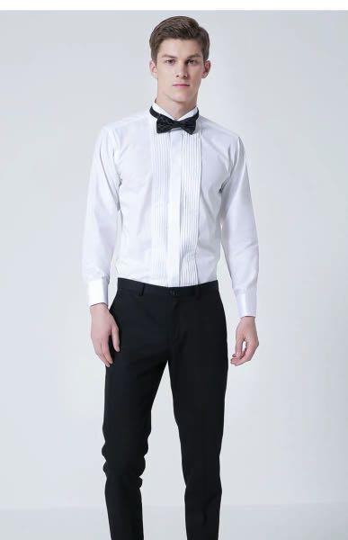 White uniform (best for pre-wedding photoshoot)