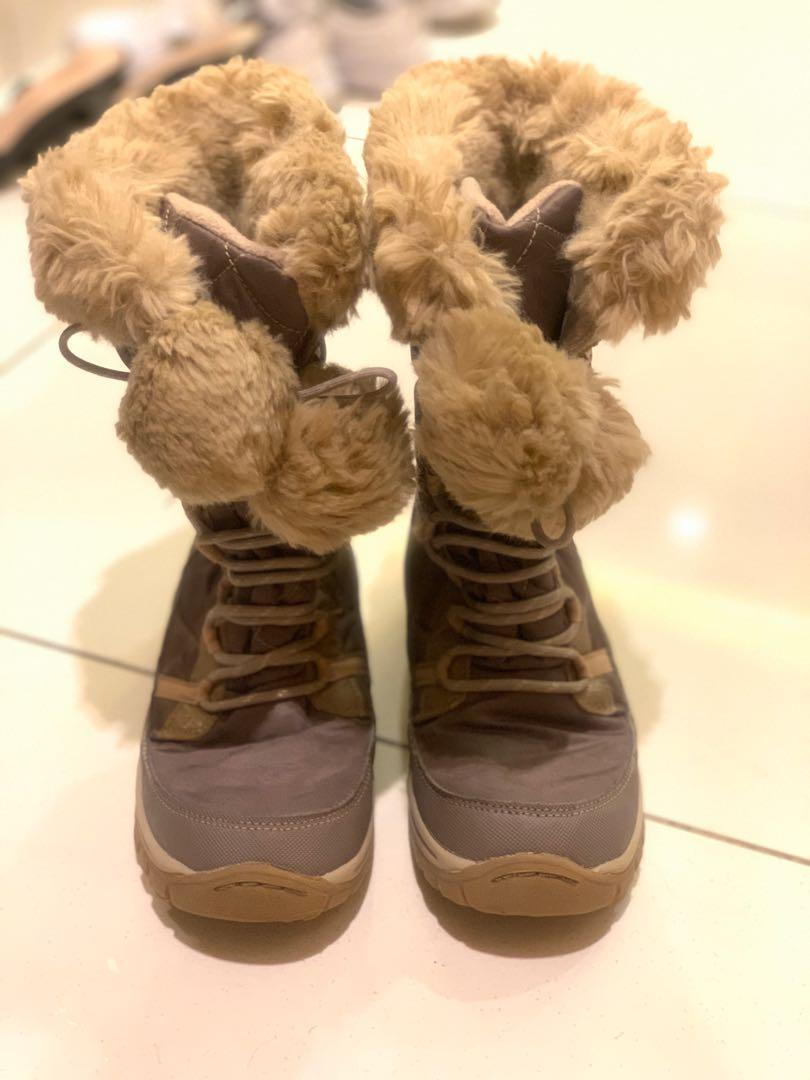Winter boots kid girl 6 to 7yrs