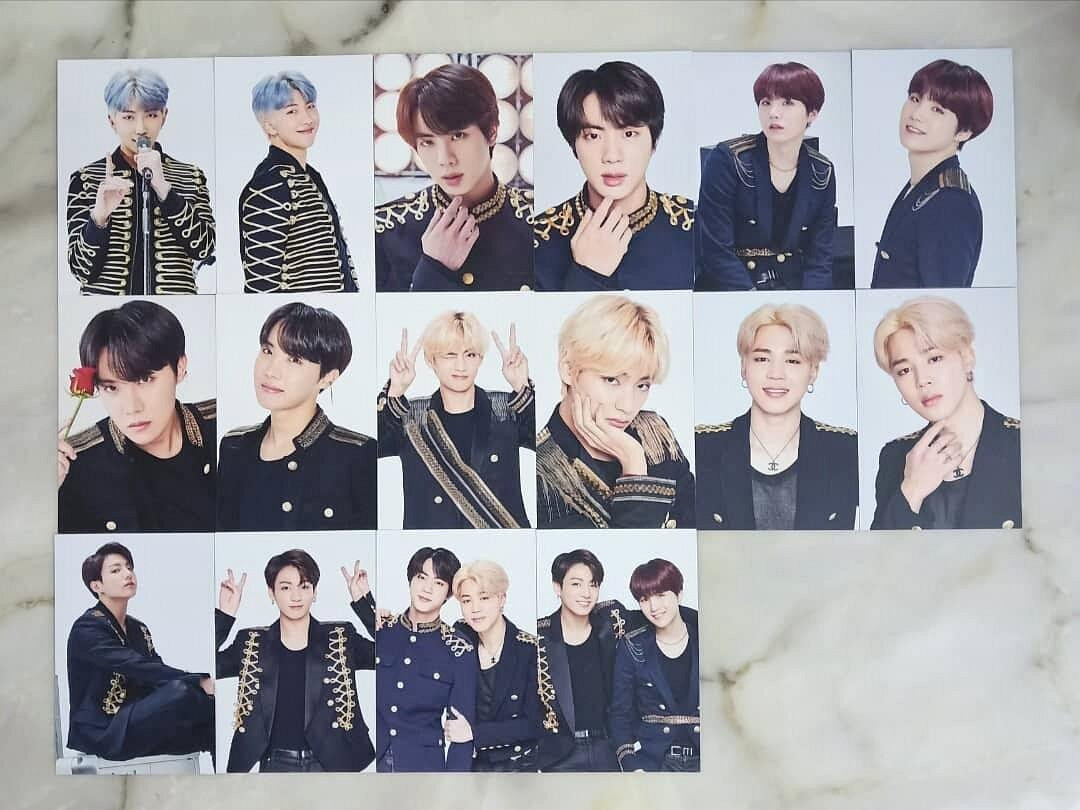 [WTS] BTS SY SPEAK YOURSELF FINAL OFFICIAL PHOTO SET LOOSE
